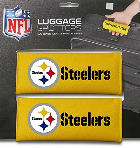 steelers-yellow-luggage-spotter-suitcase-handle-wrap-bag-tag-locator-with-id-pocket-2-pack-closeout-