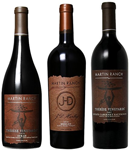 "Martin Ranch Winery ""Stellar From The Cellar"" Mixed Pack, 3 X 750 Ml"