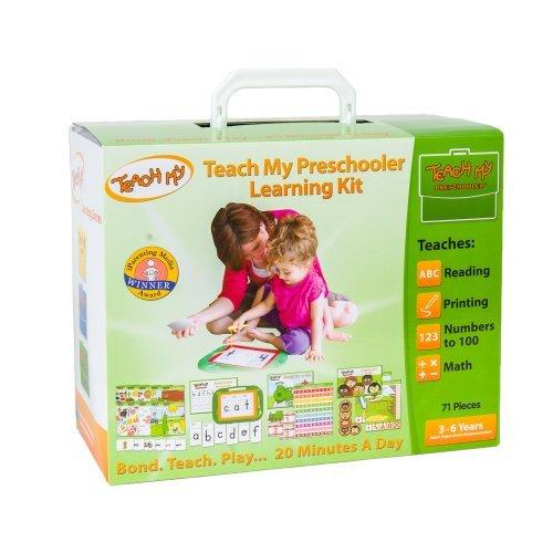Teach My Preschooler Learning Kit Toy, Kids, Play, Children front-726637