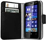 Mumbi Cover for Nokia Lumia 620 Leather Pouch Book Style