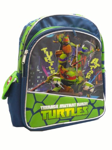 Ruz Teenage Mutant Ninja Turtles Small Backpack Bag