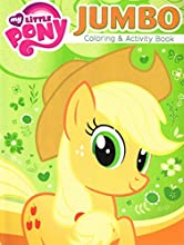 4 Pack 96pg My Little Pony Jumbo Coloring amp Activity Book - Assorted