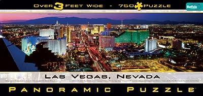 Panoramic Las Vegas 750 piece Jigsaw Puzzle