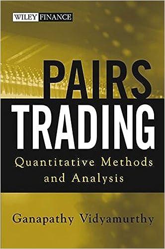 Pairs trading vidyamurthy