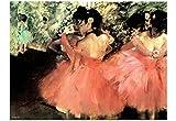 Edgar Degas (The Dancers) Art Poster Print 19 x 13in