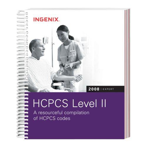 HCPCS 2008 Level II Expert (Hcpcs Level II Expert (Spiral))