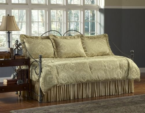 White Daybed Bedding front-630235