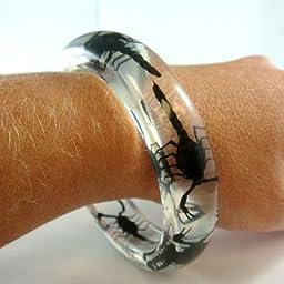 Black Scorpion Bangle