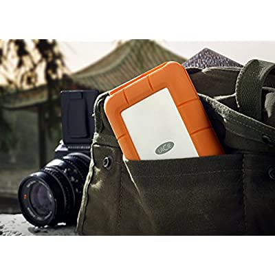 LaCie Rugged RAID Thunderbolt & USB 3.0 Mobile Hard Drive 4TB (9000601)