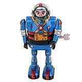 Juguete de Cuerda Robot Astronauta Hojalata