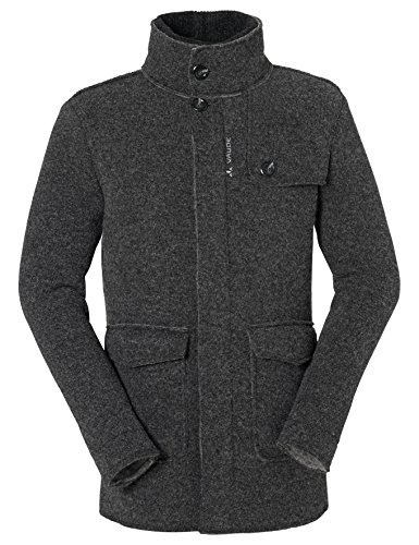 VAUDE cappotto Men' s Jacket. Lavin. Total Chic. supermodern. Charcoal., Uomo, charcoal