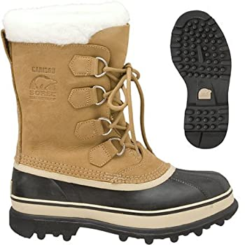 Classic style and superior warmth come together in the Sorel Caribou II Winter Boots for Women. Rated to -40°F, these boots will keep your feet comfortable and cozy, whether you're planning to snowshoe into the woods, or just simply walking into town...