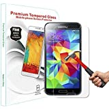 PThink� 0.3mm Ultra-thin Tempered Glass Screen Protector with 9H Hardness/Anti-scratch/Fingerprint resistant (Samsung Galaxy S5)