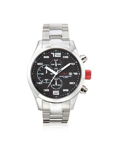red line Men's 50042-11 Stealth Silver/Black Stainless Steel Watch