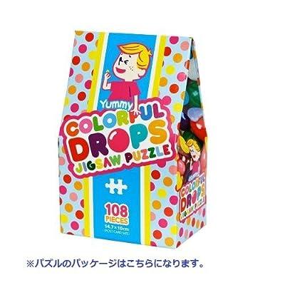 108ピース ジグソーパズル キャンディコレクション カラフルドロップス マイクロピース(10x14.7cm)