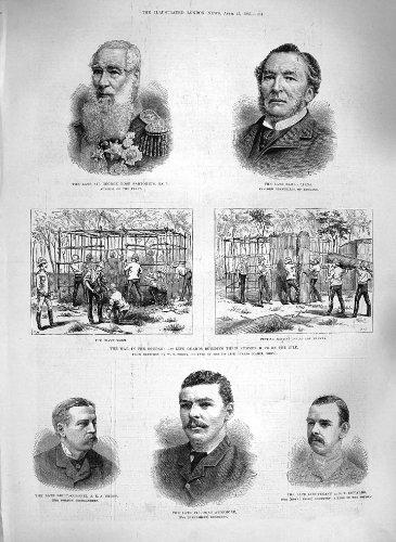 1885-mojones-del-sartorio-de-sudan-de-la-guerra-de-edwards-de-la-cruz-de-avonmore