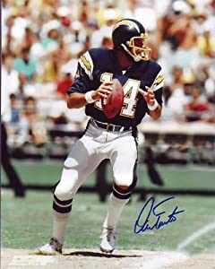 DAN FOUTS signed autographed NFL SAN DIEGO CHARGERS photo