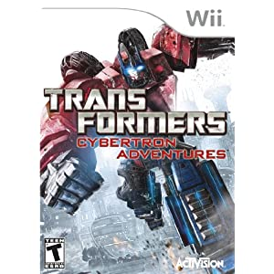 51uIFNcrMpL. SL500 AA300  Reviews Transformers: Cybertron Adventures
