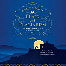 Plaid and Plagiarism Audiobook by Molly MacRae Narrated by Elaine Claxton