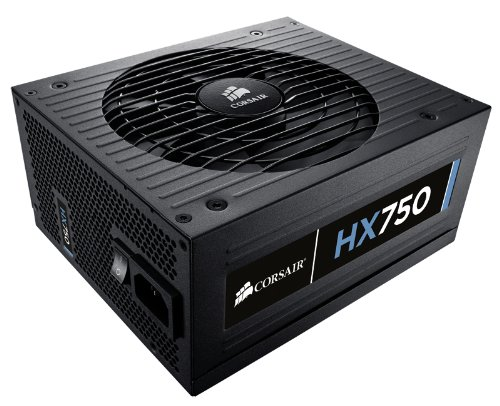 Corsair Professional Series  HX 750 Watt ATX/EPS Modular 80 PLUS Gold (HX750) Image