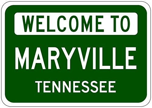 Maryville City Sign
