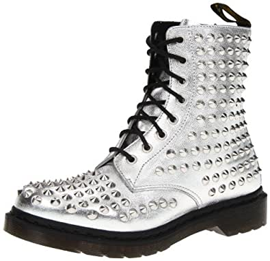 Dr martens women 39 s spike boot shoes for Amazon dr martens
