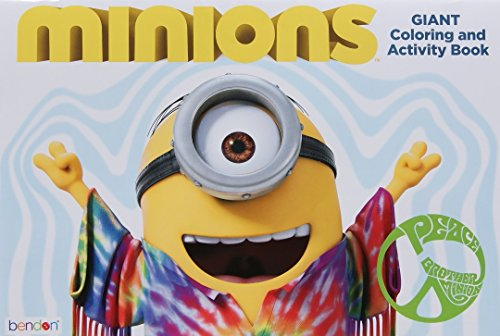 "Minions Movie Giant Coloring and Activity Book (11"" x 16"")"