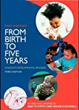 From Birth to Five Years: Children's Developmental Progress