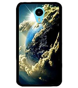 ColourCraft The Galaxy Design Back Case Cover for MEIZU M1 NOTE
