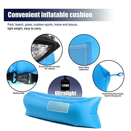 HappyCell-Outdoor-Inflatable-Lounger-Portable-Lightweight-Air-Filled-Balloon-Furniture-Indoor-Sleeping-Sofa-Couch-for-Camping-Hiking-Beach-BBQ-Fishing-with-Carry-Bag