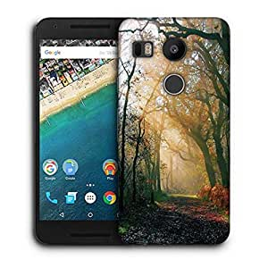 Snoogg Abstract Dense Forest Printed Protective Phone Back Case Cover For LG Google Nexus 5X