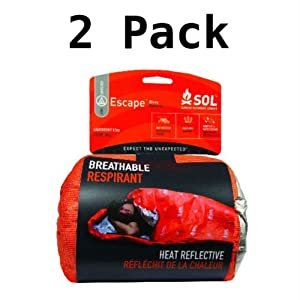 Adventure Medical Kits Survive Outdoors Longer Escape Bivvy (2 Pack) by Adventure Medical Kits