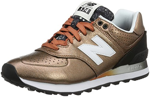new-balance-women-574-training-running-shoes-multicolor-copper-220-7-uk-40-1-2-eu