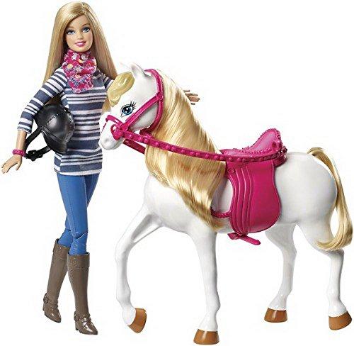 Barbie mit Pferd, 1Stück