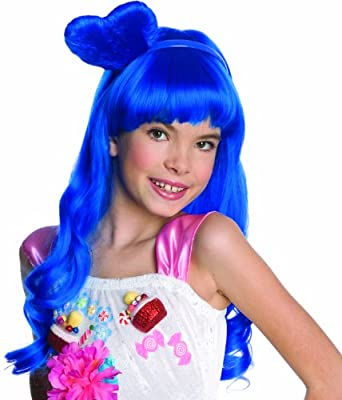 Katy Perry Child's California Gurl Blue Costume Wig