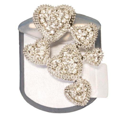 Bling Backs Crystal Rhinestone Heels Flats Shoe Jewelry Accessory