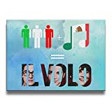 Bekey Live From Pompeii Il Volo Canvas Prints Artwork For Home Office Decorations Wall Decor For Living Room&bedroom