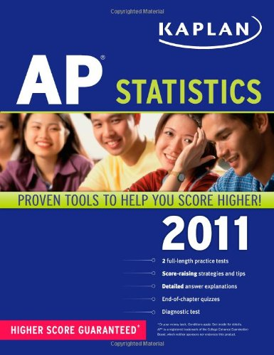 Kaplan AP Statistics 2011, Bruce Simmons, Mary Jean Bland, Barbara Wojciechowski