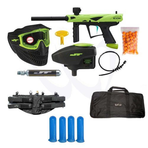 Jt Paintball E-Icon Mega Kit Electronic Marker Gun Player Package