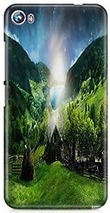 KSC Premium Desgin Hard Back Case Cover For Micromax Canvas Fire 4 A107