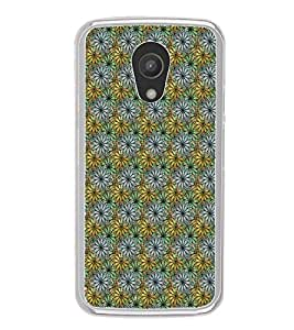 ifasho Animated Pattern design many small flowers Back Case Cover for Moto G2