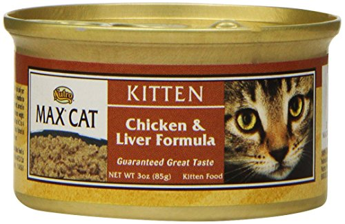 NUTRO MAX CAT Kitten Chicken and Liver Formula Canned Cat