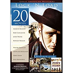 20-Film Great American Westerns: Lock 'N Load