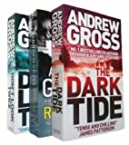 Andrew Gross Andrew Gross - Ty Hauck series 3 books 1, 2, 3 (The Dark Tide / Don't Look Twice / Reckless rrp £20.97)
