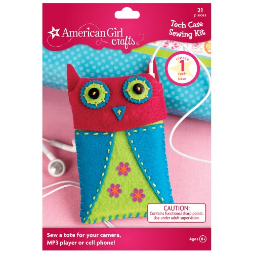 Review American Girl Crafts Tech Case Sewing Kit