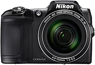 Nikon COOLPIX L840 Digital Camera - Black (16.0 MP, CMOS Sensor, 38x Zoom) 3.0 -Inch LCD