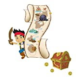 Roommates Rmk1955Slm Disney Jake And The Neverland Pirates Peel And Stick Growth Chart