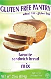 51uIZhFbVQL. SL160 The Gluten Free Pantry Favorite Sandwich Bread Mix, 22 Ounce Boxes (Pack of 6)