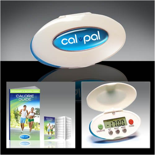 CalPal Pocket-Sized Digital Calorie Tracker, New for 2009! Not a pedometer!
