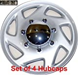 51uIZstalDL. SL160  16 set of 4 Ford Truck Van Hub caps design are UNIVERSAL wheel covers fit most 16 rims (E150 E250 E350 E450 hubcaps)